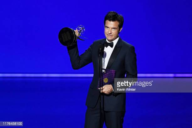 Jason Bateman accepts the Outstanding Directing for a Drama Series award for 'Ozark' onstage during the 71st Emmy Awards at Microsoft Theater on...