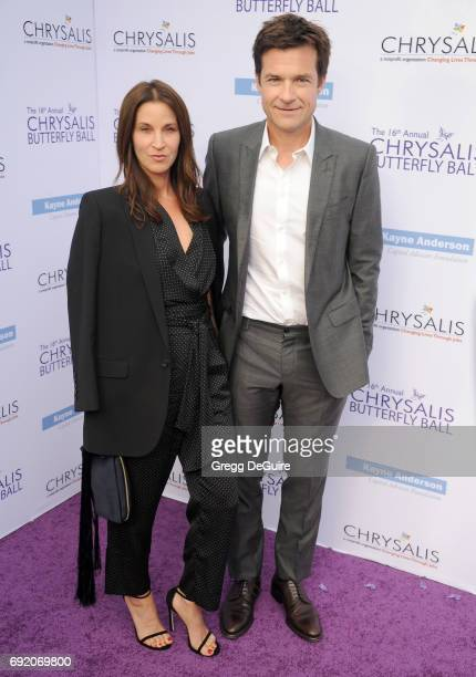 Jason Bateman and Amanda Anka arrive at the 16th Annual Chrysalis Butterfly Ball at a private residence on June 3 2017 in Brentwood California