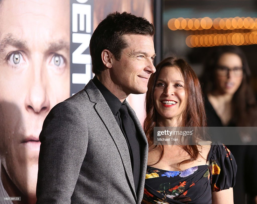Jason Bateman (L) and Amanda Anka arrive at the Los Angeles premiere of 'Identity Thief' held at Mann Village Theatre on February 4, 2013 in Westwood, California.