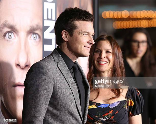 Jason Bateman and Amanda Anka arrive at the Los Angeles premiere of Identity Thief held at Mann Village Theatre on February 4 2013 in Westwood...