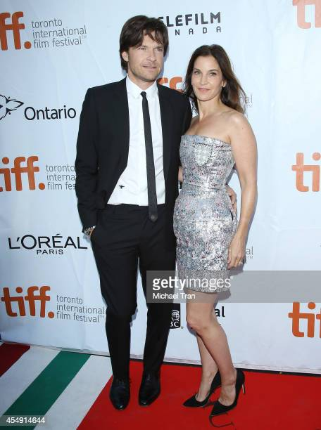 Jason Bateman and Amanda Anka arrive at the premiere of This Is Where I Leave You during the 2014 Toronto International Film Festival Day 4 on...