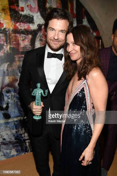 Jason Bateman and Amanda Anka attend PEOPLE's Annual Screen Actors Guild Awards Gala sponsored by L'Oreal Paris at The Shrine Auditorium on January...