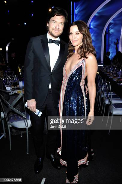 Jason Bateman and Amanda Anka attend the 25th Annual Screen ActorsGuild Awards at The Shrine Auditorium on January 27 2019 in Los Angeles California...