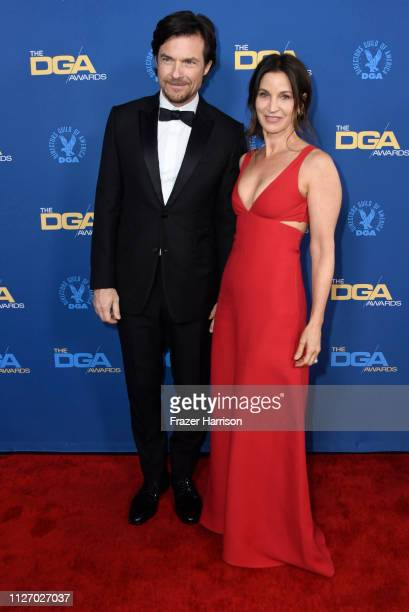 Jason Bateman and Amanda Anka attend the 71st Annual Directors Guild Of America Awards at The Ray Dolby Ballroom at Hollywood Highland Center on...
