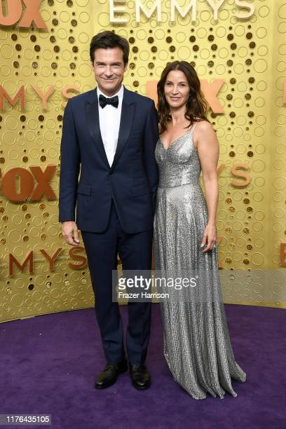 Jason Bateman and Amanda Anka attend the 71st Emmy Awards at Microsoft Theater on September 22 2019 in Los Angeles California