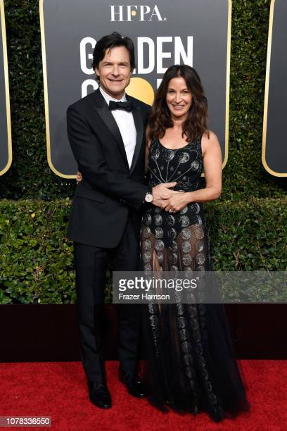 Jason Bateman and Amanda Anka attend the 76th Annual Golden Globe Awards at The Beverly Hilton Hotel on January 6 2019 in Beverly Hills California