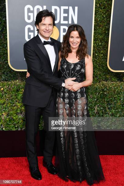 Jason Bateman and Amanda Anka attend the 76th Annual Golden Globe Awards held at The Beverly Hilton Hotel on January 06 2019 in Beverly Hills...