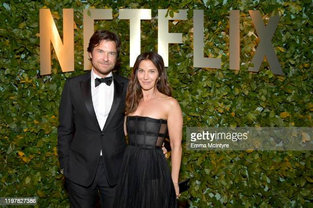 Jason Bateman and Amanda Anka attend the Netflix 2020 Golden Globes After Party on January 05 2020 in Los Angeles California