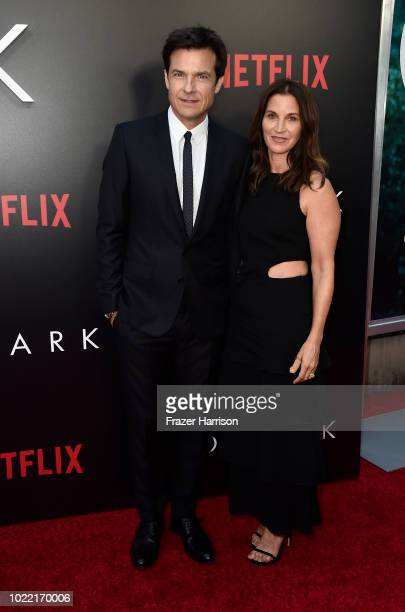 Jason Bateman and Amanda Anka attend the Premiere Of Netflix's Ozark Season 2 at ArcLight Cinemas on August 23 2018 in Hollywood California