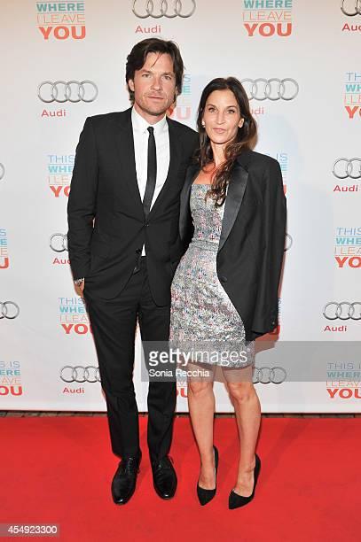 Jason Bateman and Amanda Anka attend This Is Where I Leave You PostScreening Event Presented By Audi Canada 2014 Toronto International Film Festival...