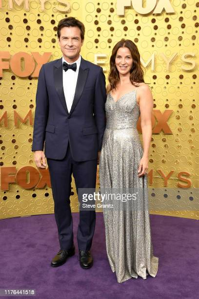 Jason Bateman and Amanda Anka attends the 71st Emmy Awards at Microsoft Theater on September 22 2019 in Los Angeles California