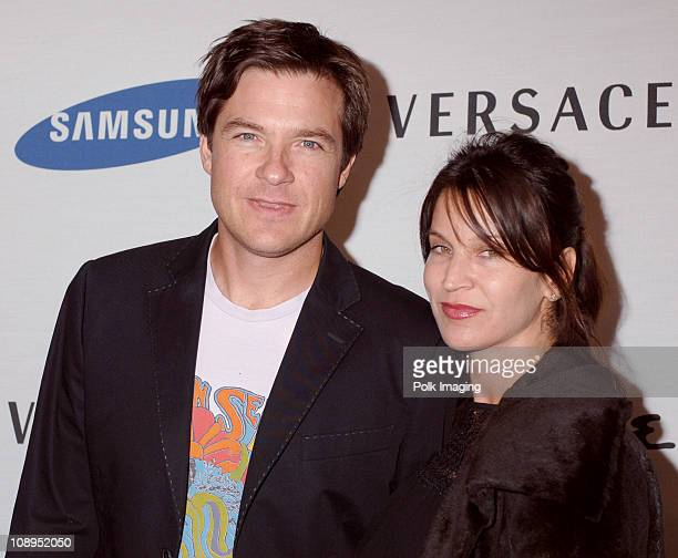 Jason Bateman and Amanda Anka during Esquire Magazine Unveils the 'Esquire House 360' with an Opening Night Celebration to Benefit 'The Art of...