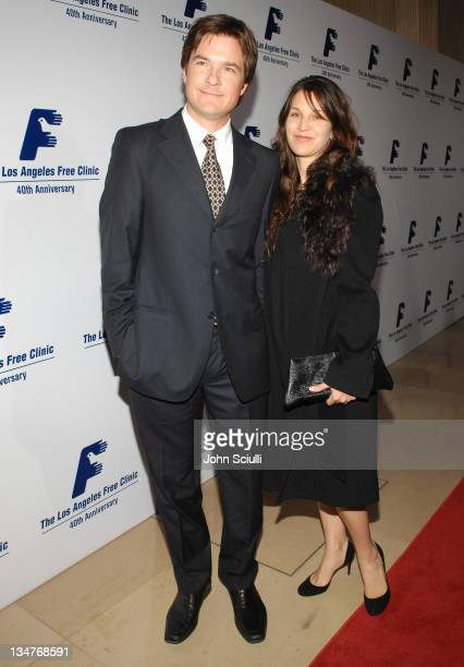 Jason Bateman and Amanda Anka during Los Angeles Free Clinic Annual Dinner Gala Honoring Paramount Pictures Corporation Chairman and CEO Brad Grey...