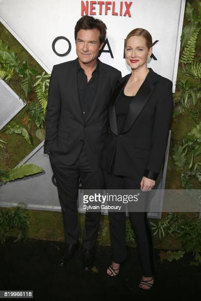 """Jason Bateman and Laura Linney attend """"Ozark"""" New York Screening at The Metrograph on July 20, 2017 in New York City."""