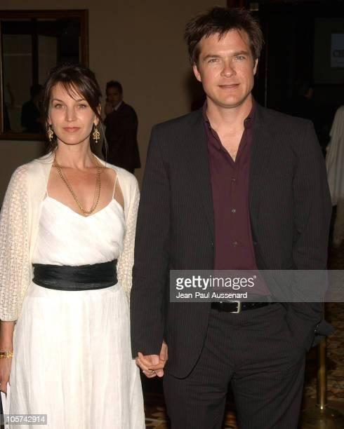 Jason Bateman and wife Amanda Anka during 5th Annual Project ALS Benefit Gala Honoring Ben Stiller Arrivals at Westin Century Plaza Hotel in Century...