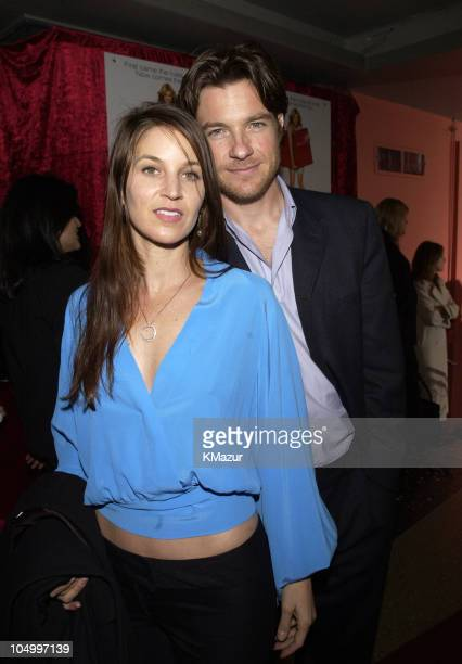 Jason Bateman and wife Amanda Anka during The Sweetest Thing After Party at Roseland in New York City New York United States