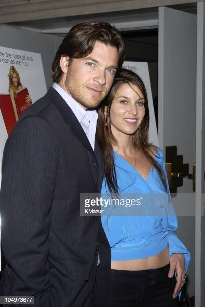 Jason Bateman and wife Amanda Anka during 'The Sweetest Thing' Premiere at Loews Lincoln Square in New York City New York United States