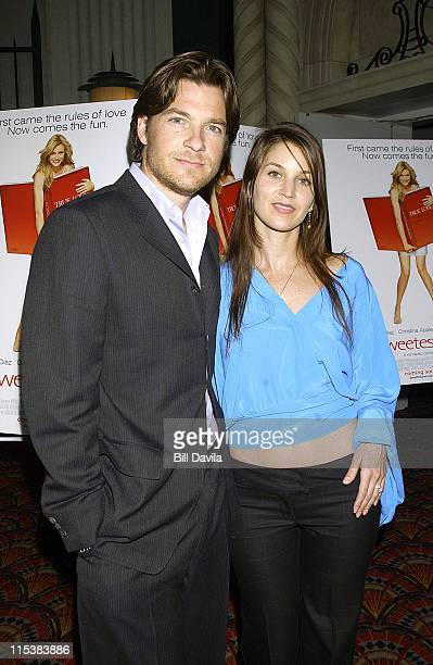 Jason Bateman and wife Amanda Anka during The Sweetest Thing Premiere New York at Lowes Lincoln Square in New York City New York United States