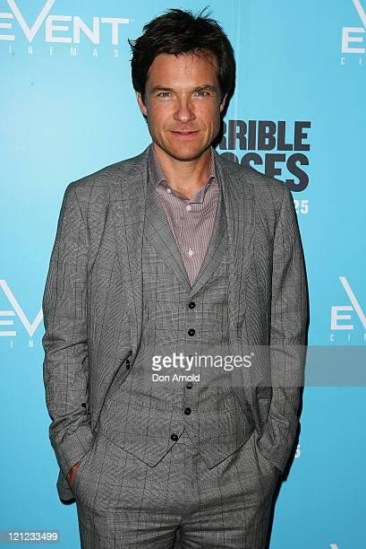 Jason Bateman arrives at the premiere of Horrible Bosses at Event Cinemas on August 16 2011 in Sydney Australia