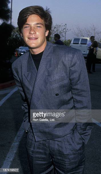 Jason Bateman attends Fifth Annual MTV Video Music Awards on September 7 1988 at the Universal Ampitheater in Universal City California