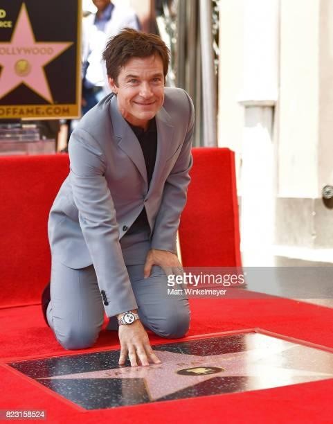 Jason Bateman attends The Hollywood Walk of Fame Star Ceremony honoring Jason Bateman on July 26, 2017 in Hollywood, California.