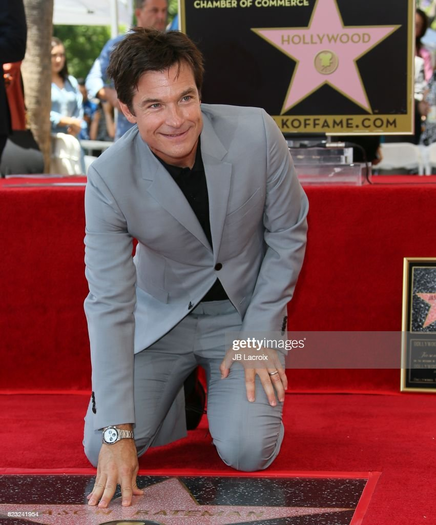 Jason Bateman attends The Hollywood Walk of Fame Star Ceremony honoring Jason Bateman on July 26, 2017 in Hollywood, California.