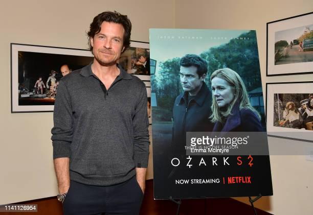 Jason Bateman attends the Netflix Ozark screening reception at the Linwood Dunn Theater on April 07 2019 in Los Angeles California