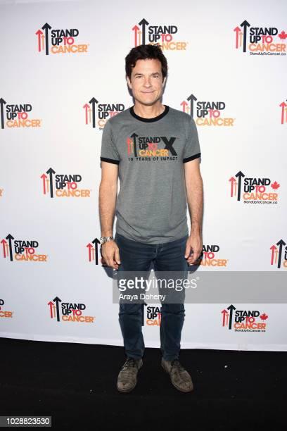 Jason Bateman attends the sixth biennial Stand Up To Cancer telecast at the Barkar Hangar on Friday, September 7, 2018 in Santa Monica, California.