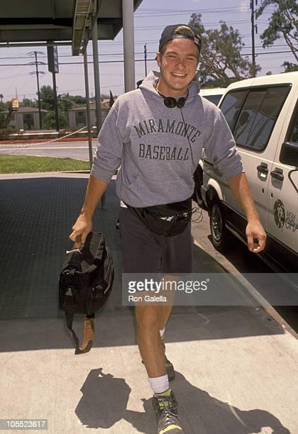 Jason Bateman during Jason Bateman Sighting at Los Angeles International Airport July 3 1990 at Los Angeles International Airport in Los Angeles...
