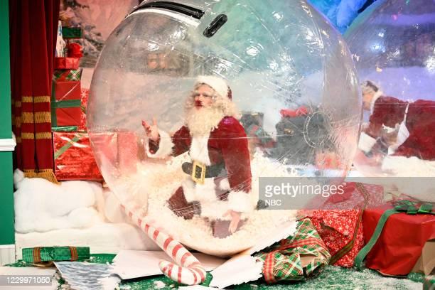 "Jason Bateman"" Episode 1792 -- Pictured: Host Jason Bateman as Santa Claus during the ""Santa's Village"" sketch on Saturday, December 5, 2020 --"