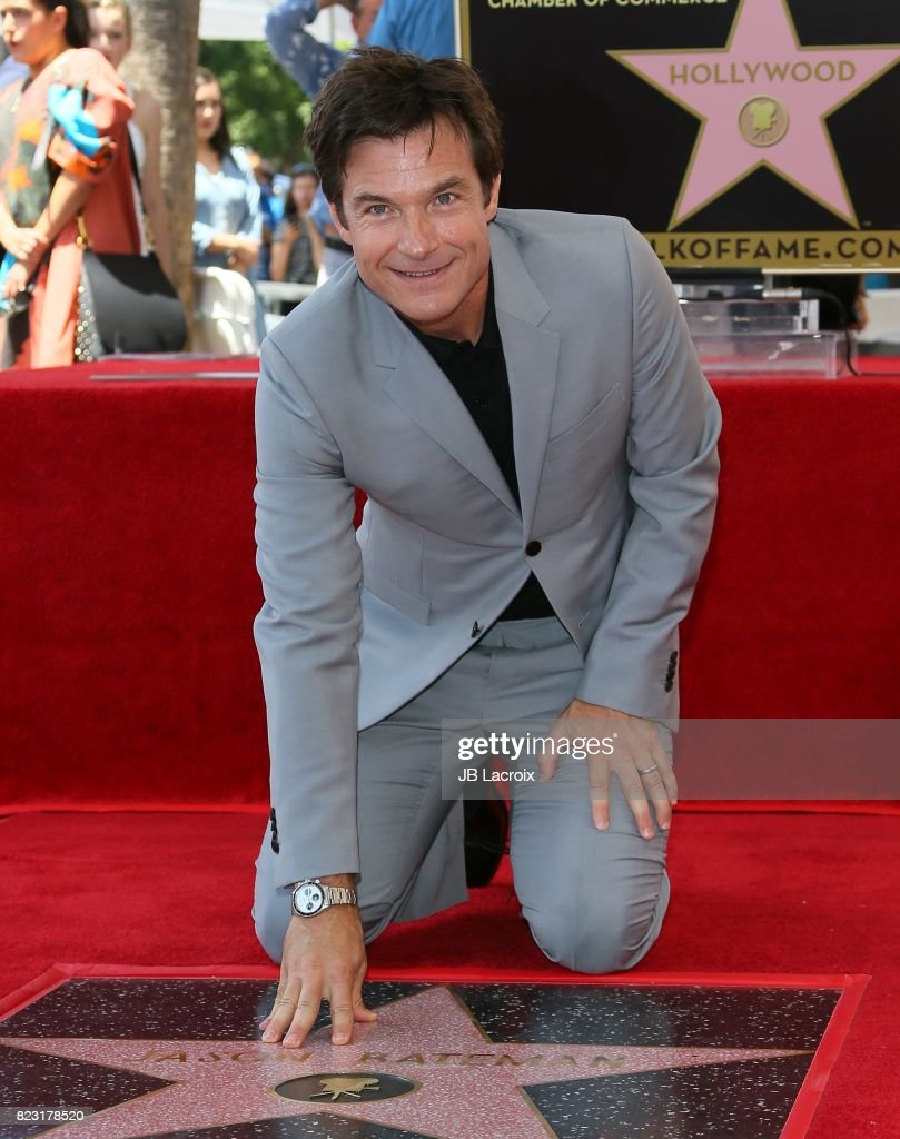 Jason Bateman Honored With Star On The Hollywood Walk Of Fame