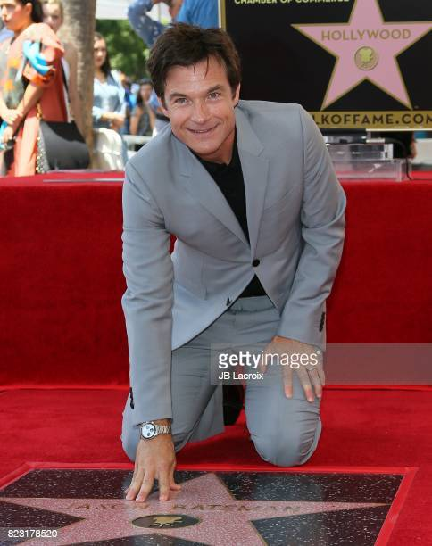 Jason Bateman is honored with Star On The Hollywood Walk Of Fame on July 25 2017 in Hollywood California