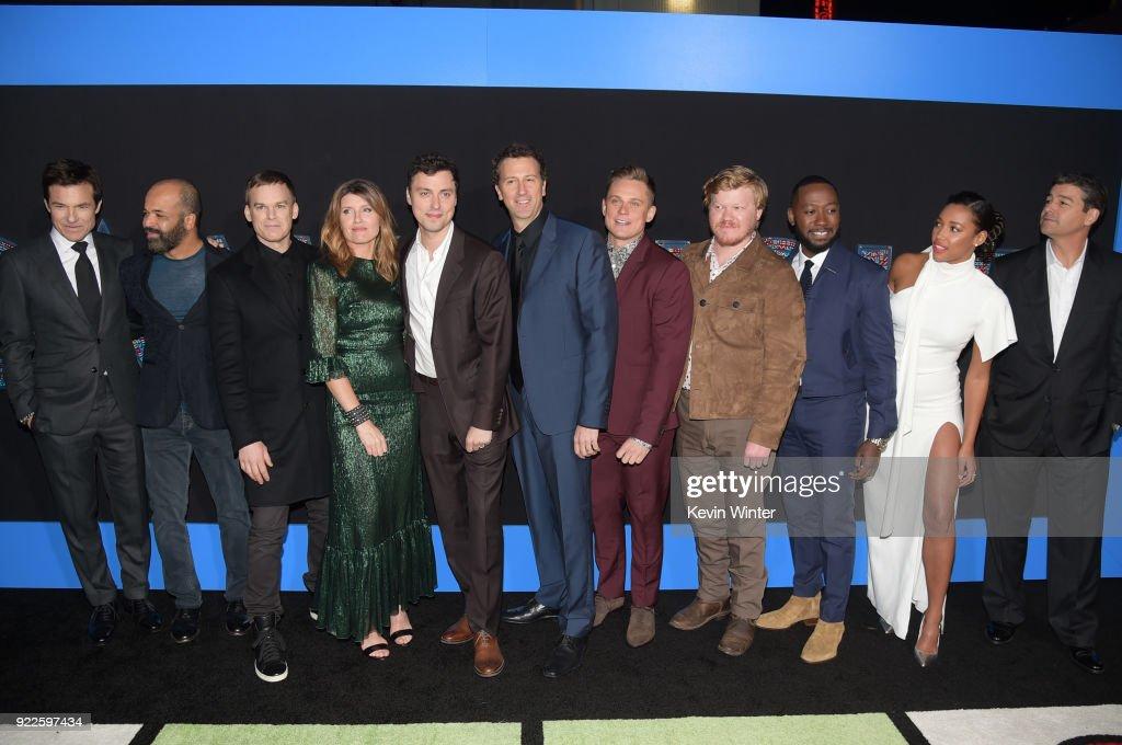"""Premiere Of New Line Cinema And Warner Bros. Pictures' """"Game Night"""" - Red Carpet : Nachrichtenfoto"""