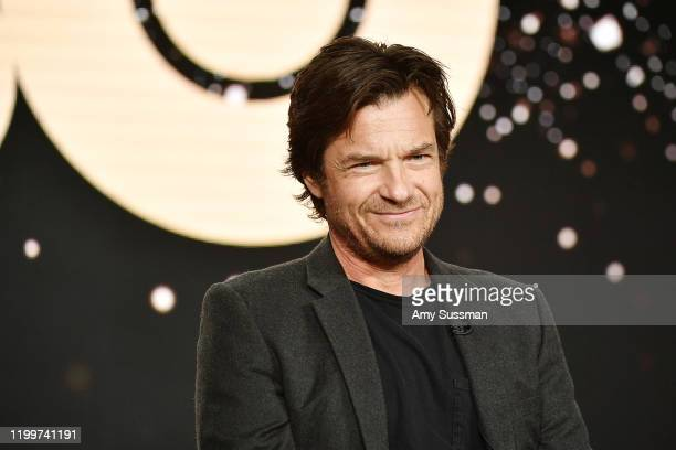 """Jason Bateman of """"The Outsider"""" speaks during the HBO segment of the 2020 Winter TCA Press Tour at The Langham Huntington, Pasadena on January 15,..."""