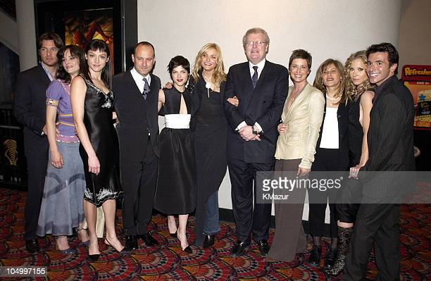 Jason Bateman, Parker Posey, writer Nancy M. Pimental, director Roger Kumble, Selma Blair, Cameron Diaz, Howard Stringer, Chairman and CEO of Sony...