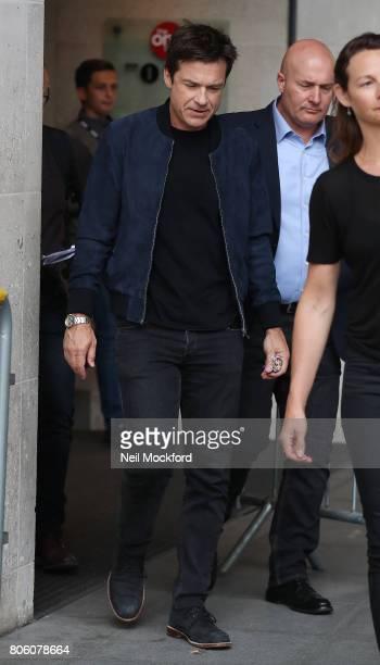 Jason Bateman seen at BBC Radio One on July 3 2017 in London England