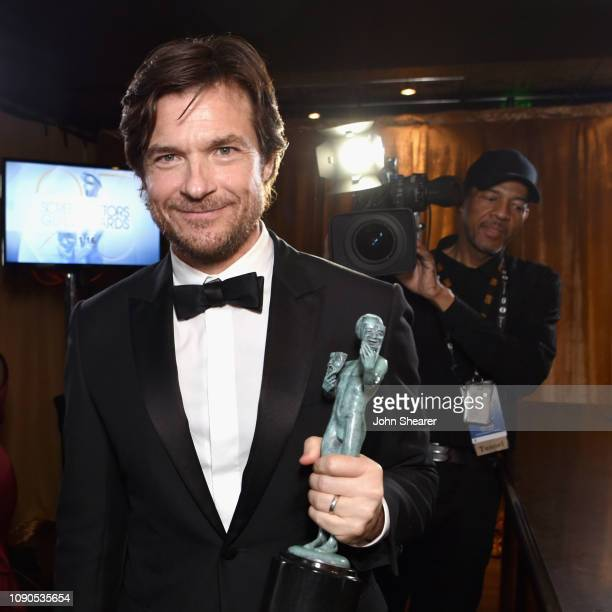Jason Bateman winner of Outstanding Performance by a Male Actor in a Drama Series for 'Ozark' attends the 25th Annual Screen ActorsGuild Awards at...