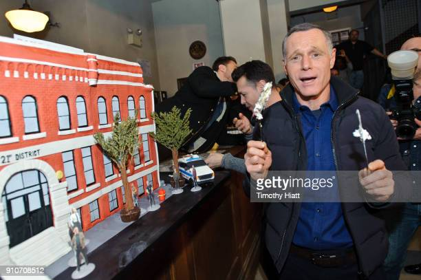 Jason Beghe attends the 100th Episode Celebration for Chicago PD on January 26 2018 in Chicago Illinois
