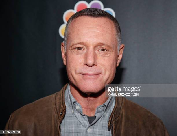 Jason Beghe attends the 2019 press day for TV shows Chicago Fire Chicago PD and Chicago Med on October 7 2019 in Chicago Illinois