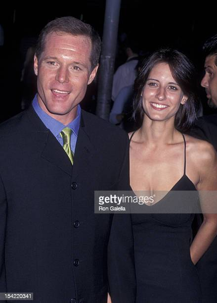 Jason Beghe attends the premiere of GI Jane on August 6 1997 at Mann Village Theater in Westwood California