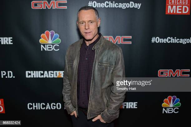 Jason Beghe attends the press junket for One Chicago on October 30 2017 in Chicago Illinois
