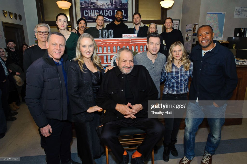 'Chicago, P.D.' 100th Episode Celebration : News Photo. '