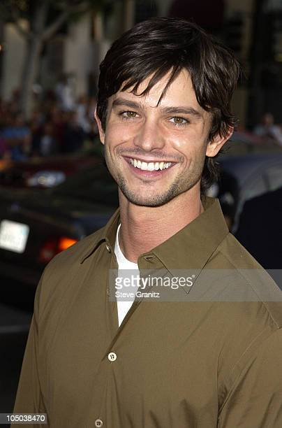 Jason Behr during Windtalkers Premiere at Grauman's Chinese Theatre in Hollywood California United States