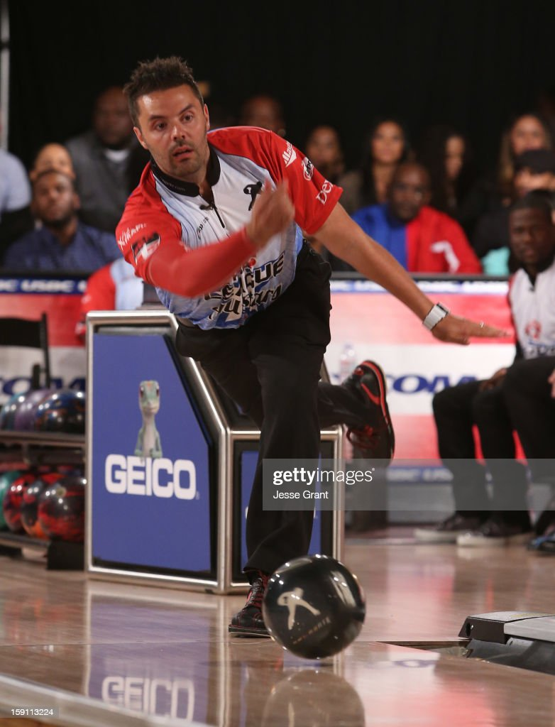 Jason Belmonte attends the 2013 Chris Paul PBA League All-Stars Invitational Bowling Tournament at Lucky Strike Lanes at L.A. Live on January 7, 2013 in Los Angeles, California.