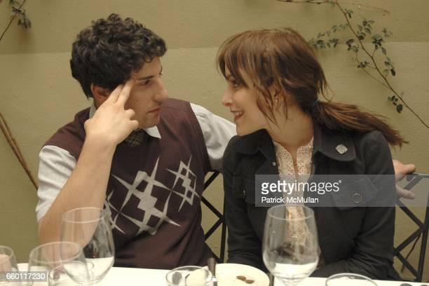 Jason Biggs and Jenny Mollen attend SHE Images of women by Wallace Berman and Richard Prince Opening at Michael Kohn Gallery on January 15 2009 in...