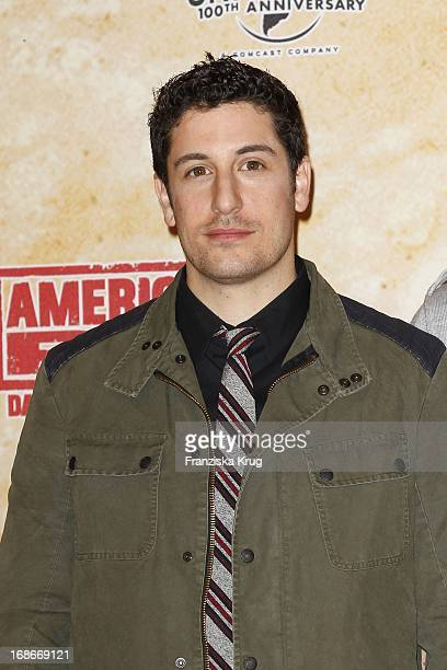 Jason Biggs at photocall for the movie American Pie Reunion in Berlin on 29th of March