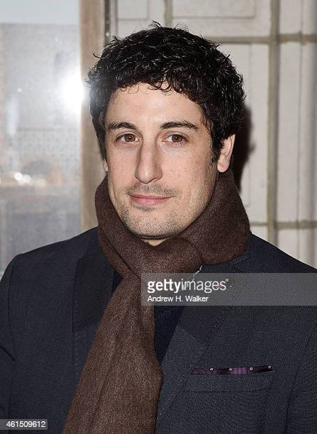 Jason Biggs attends 'Constellations' Broadway opening night at Samuel J Friedman Theatre on January 13 2015 in New York City