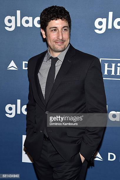 Jason Biggs attends the 27th Annual GLAAD Media Awards in New York on May 14 2016 in New York City