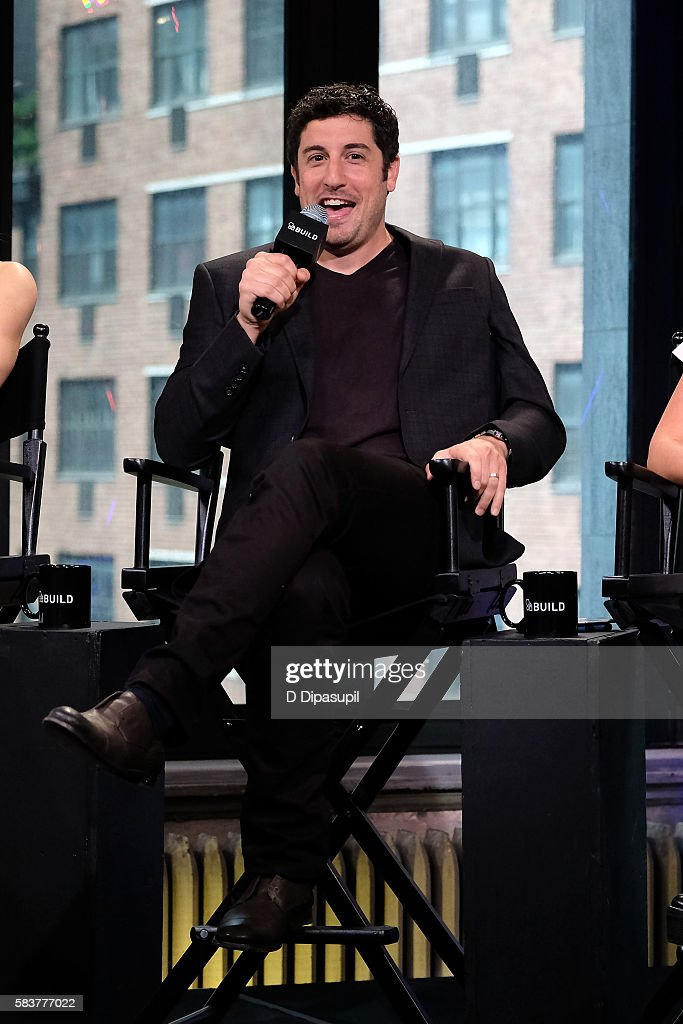 Jason Biggs attends the AOL Build Speaker Series to discuss 'Amateur Night' at AOL HQ on July 27, 2016 in New York City.