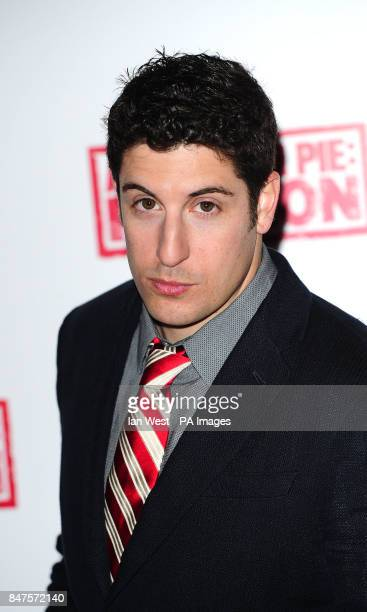 Jason Biggs during a photocall to promote his new film American PieReunion